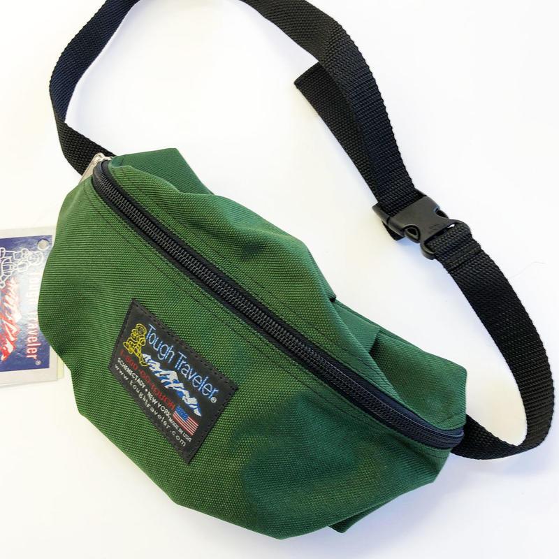 Tough Traveler / SUNNYSIDE PACK  GREEN タフトラベラー ウエストバッグ