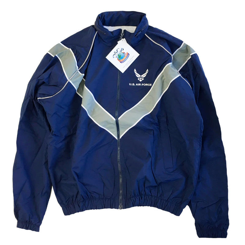 US . Air Force  Physcal Traning Jacket S/L フィジカルトレーニングジャケット アメリカ軍 空軍 米軍放出品