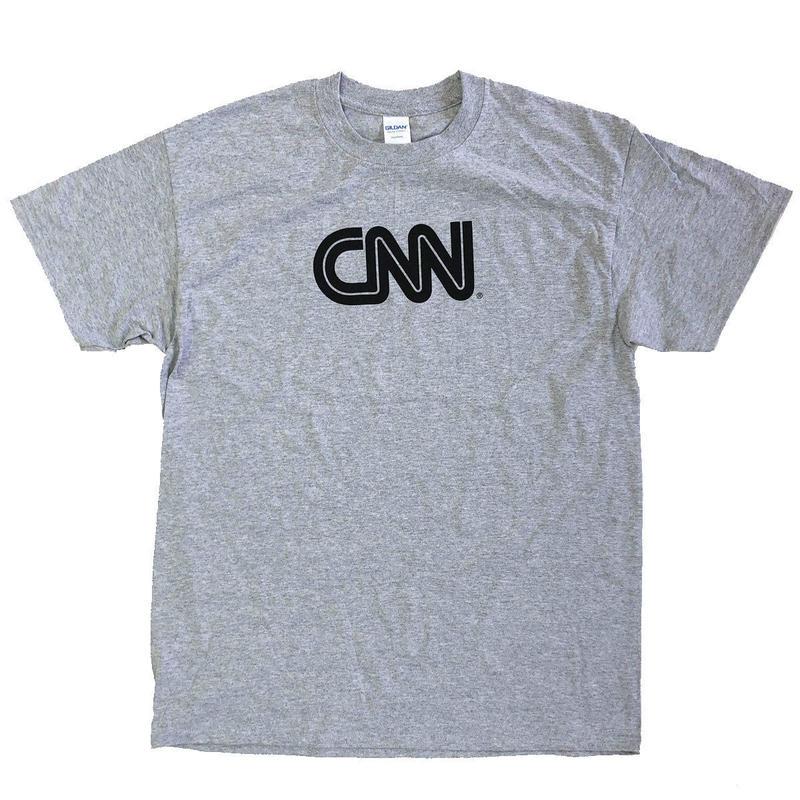 CNN  BASIC LOGO TEE  Grey  Tシャツ オフィシャルグッズ