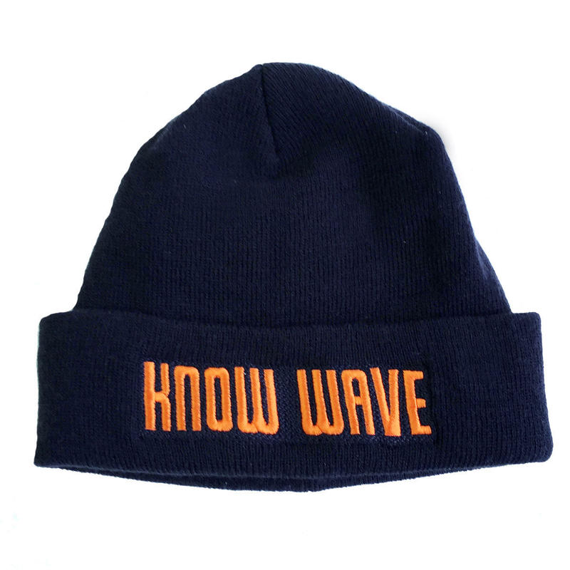 KNOW WAVE / knitcap NAVY ノーウェーブ ニットキャップ
