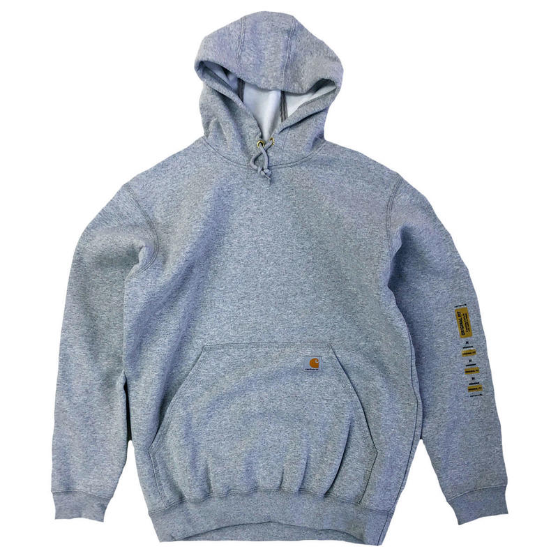 CARHARTT HOODED PULLOVER MIDWEIGHT SWEATSHIRT Heather Grey カーハート パーカー