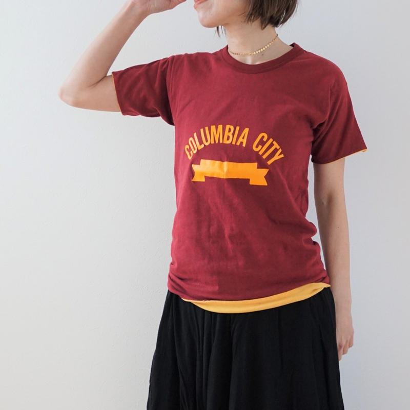 <R.vintage(rv0071)>T-shirt