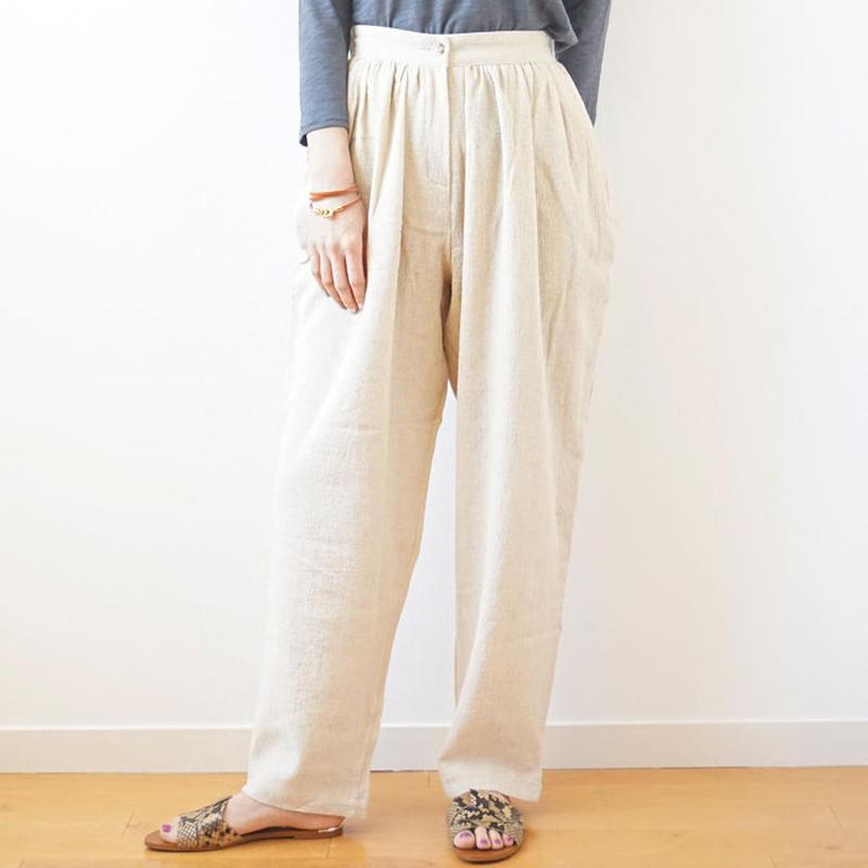 linen pants (119-3235)