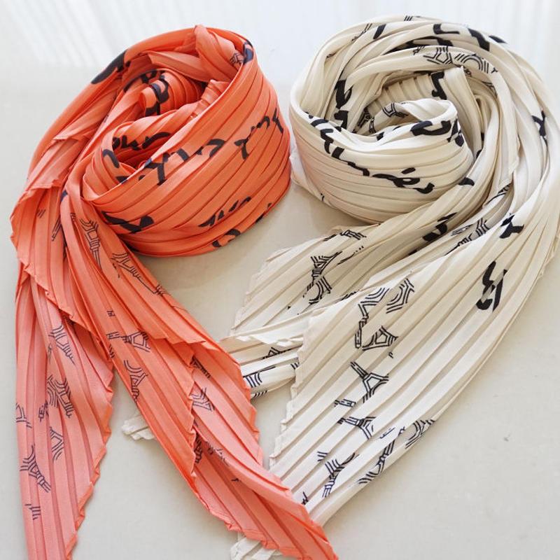pleats scarf(K-11)