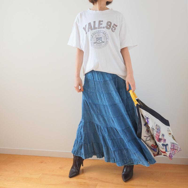 <R.vintage(rv0032)>denim skirt