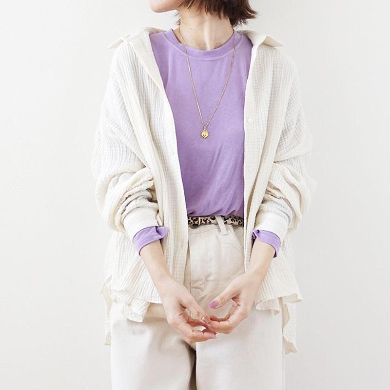 waffle shirt(119-1236)