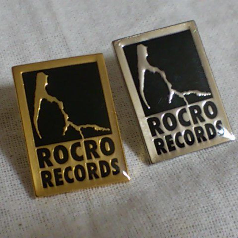 ピンズ【ROCRO RECORDSロゴ】