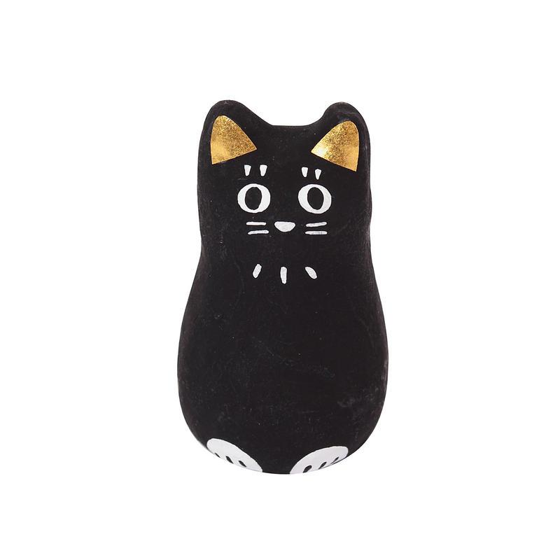 張り子(おみくじ付) 猫