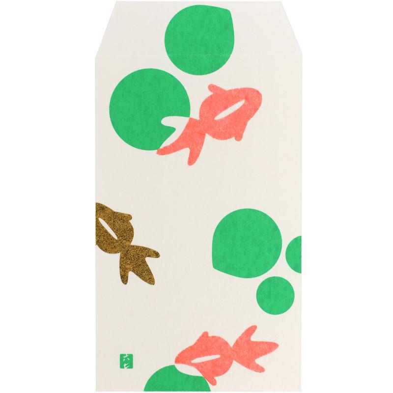 ぽち袋 金魚