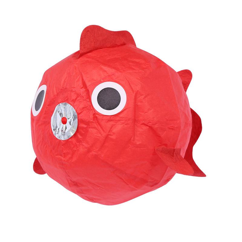 紙風船 金魚