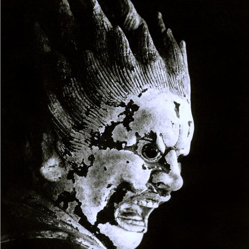 ハイブリッド仏像ポスター「新薬師寺伐折羅大将」(御顔)四つ切サイズ