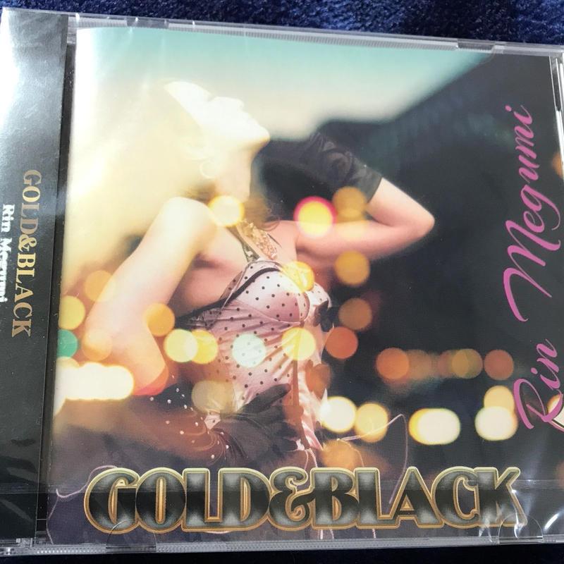 恵梨GOLD&BLACKアルバム