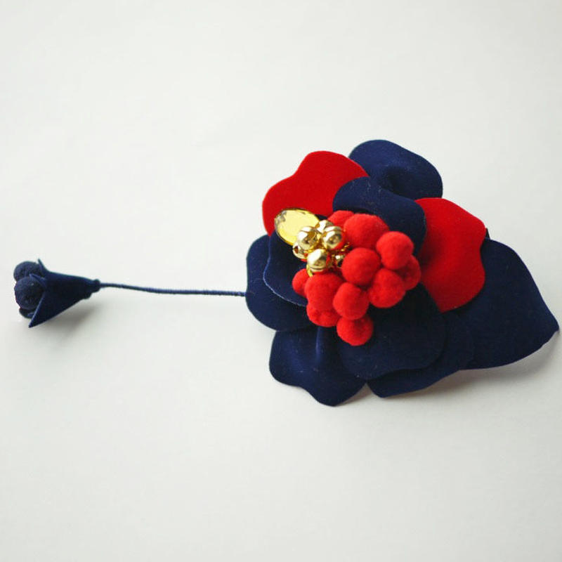 《数量限定》velvet flower clip 〈mix〉