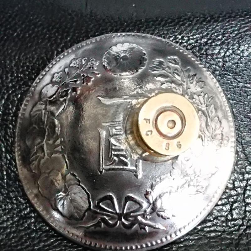 オリジナルコンチョ 弾丸