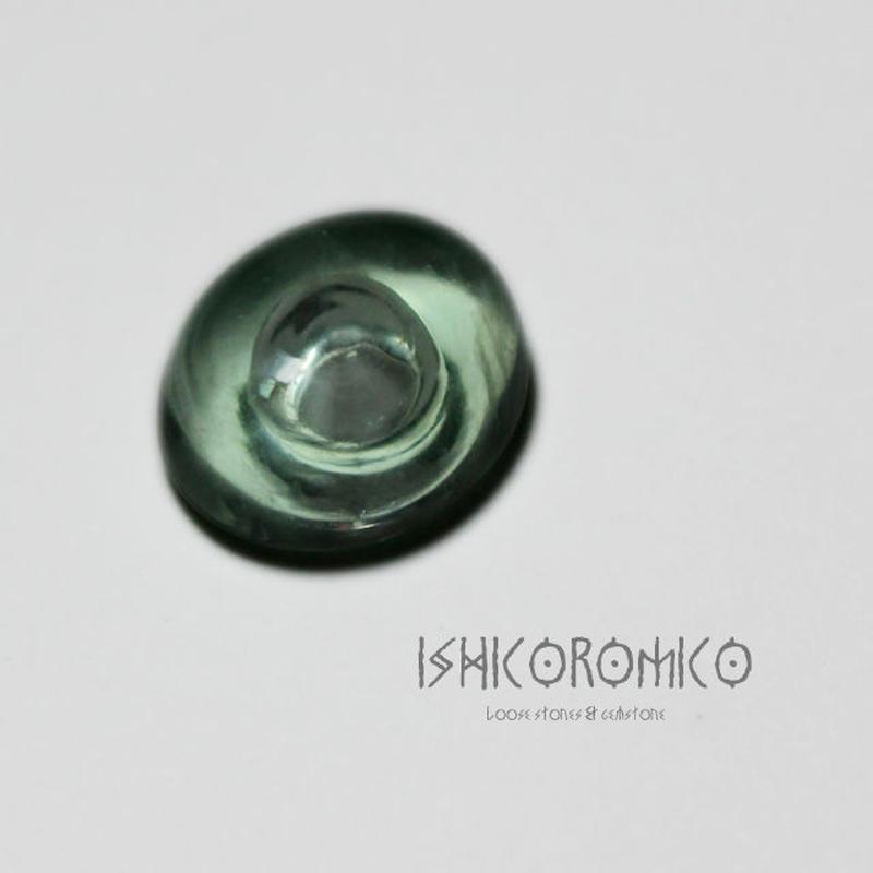 蛍石 (気泡カット)