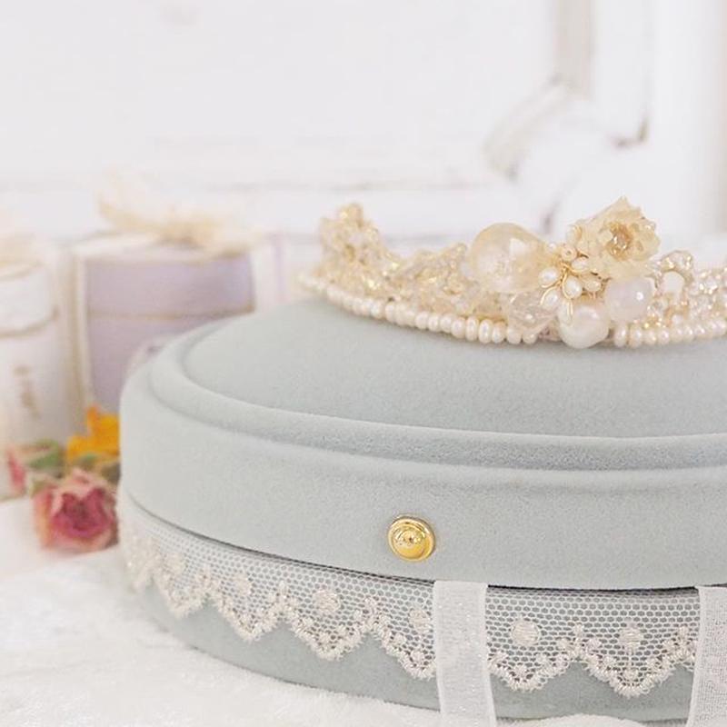 【curva】tiara ティアラ wedding ヘッドドレス