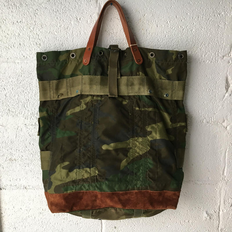 #296 1980's ALICE pack custom tote woodland