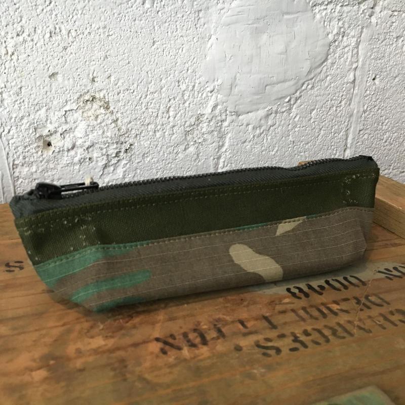 vintage fabric pen case