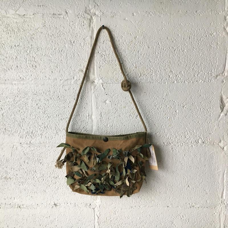 #337 Ghillie shoulder bag