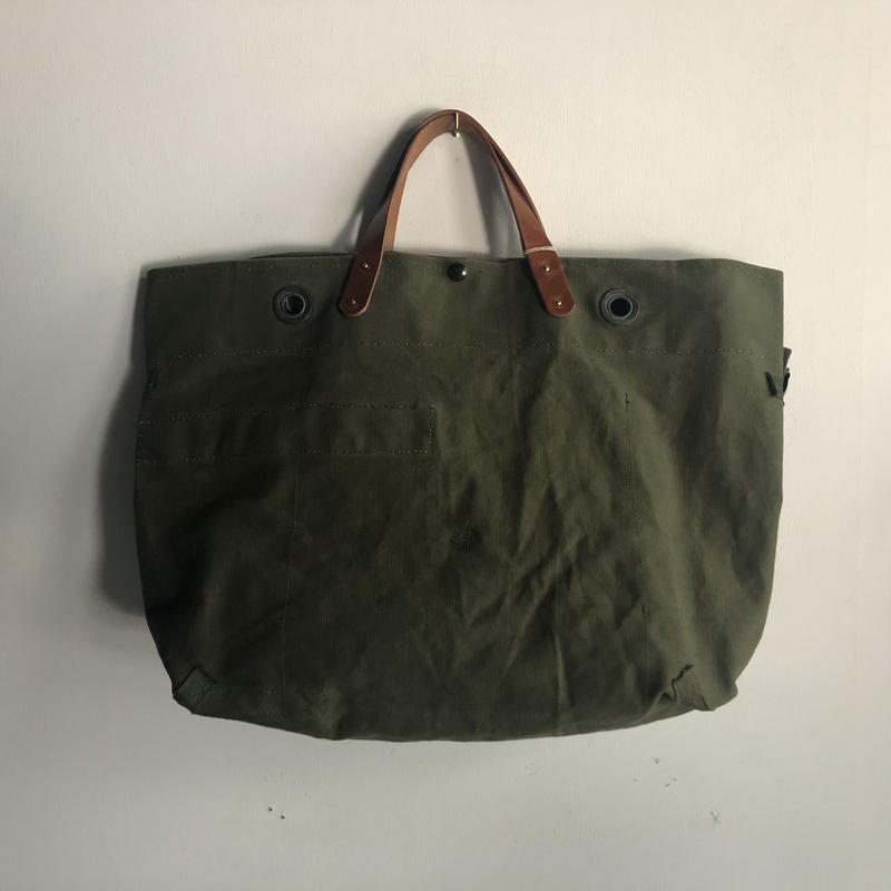 #768 1960's duffle messenger bag