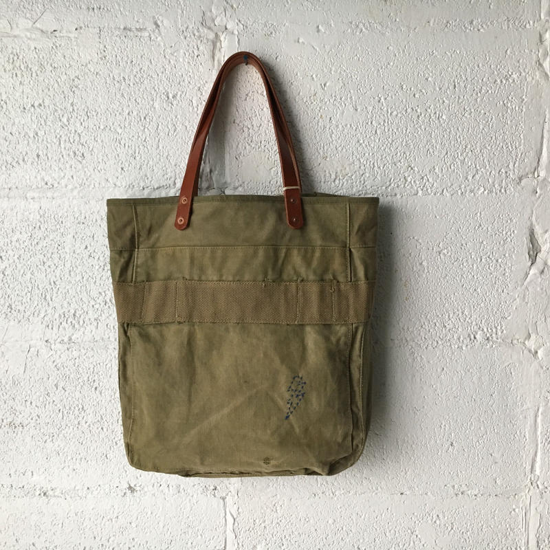 #256 1940's field cargo pack custom tote