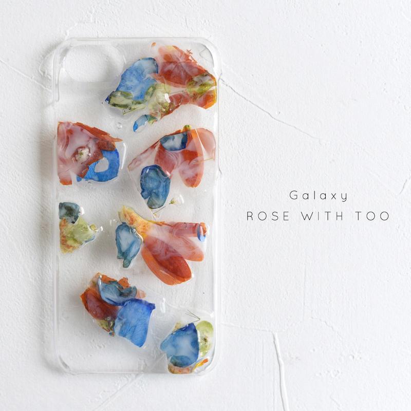 【リング不可】Galaxy / 押し花ケース 20190619_5