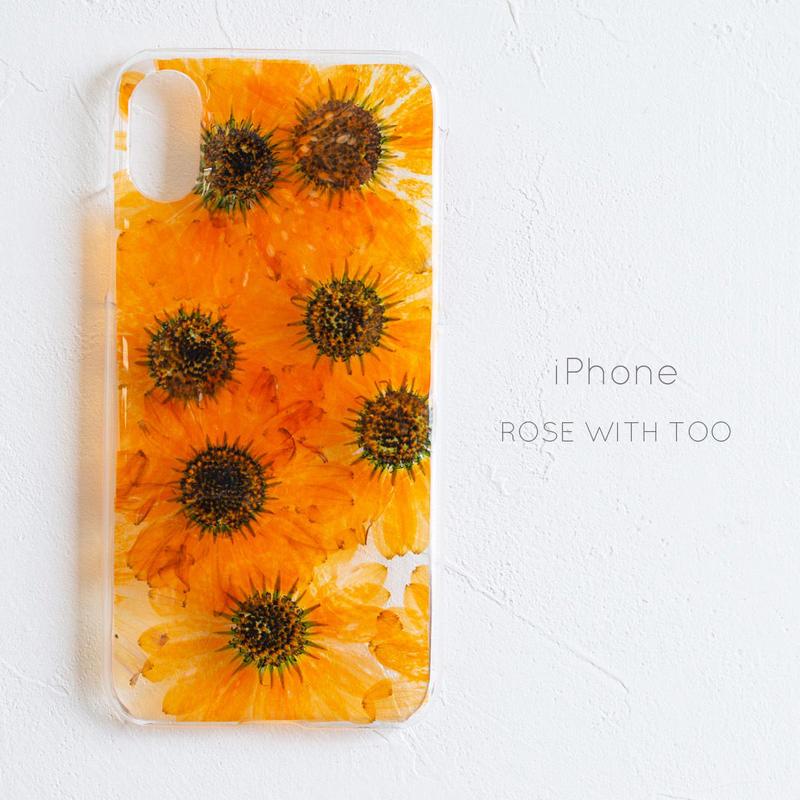 iPhone /  押し花 スマホケース0327_4