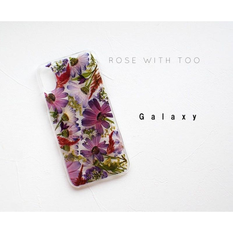 Galaxy / 押し花ケース20190717_6