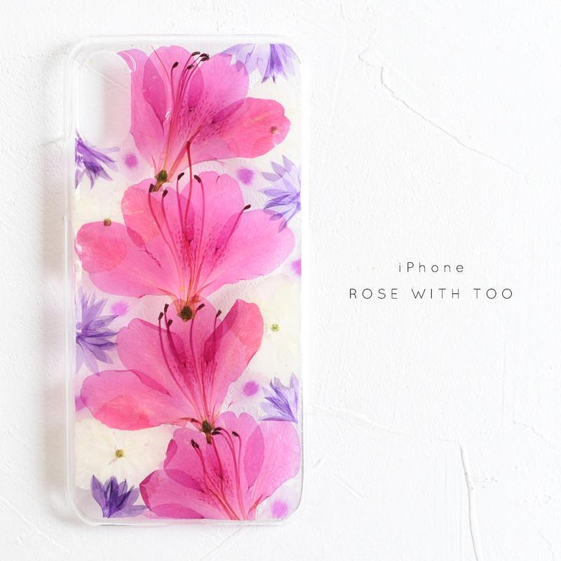 iPhone / 押し花ケース 20190605_2