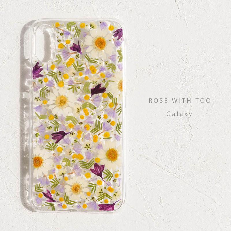 Galaxy /  押し花ケース 190227_2