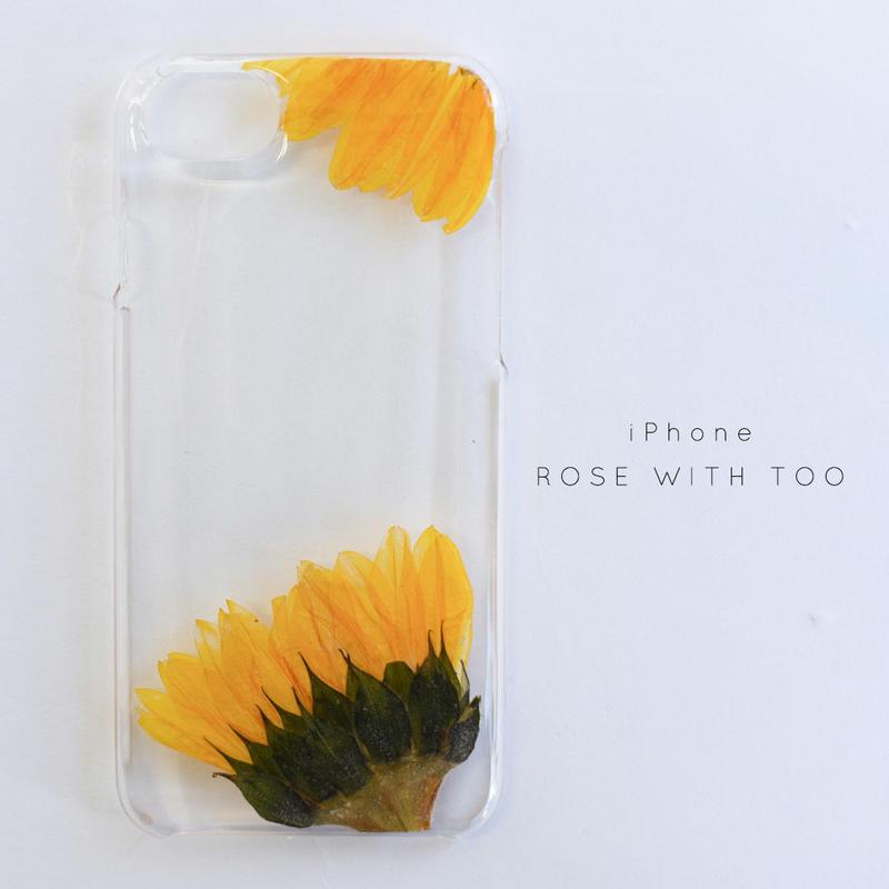 iPhone / 押し花ケース20190626_7