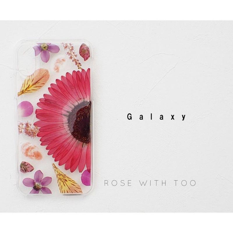 【リング不可】Galaxy / 押し花ケース20190710_2