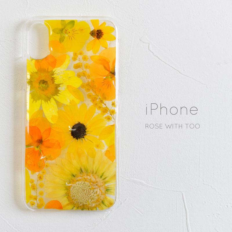 iPhone /    押し花スマホケース 2019043_3