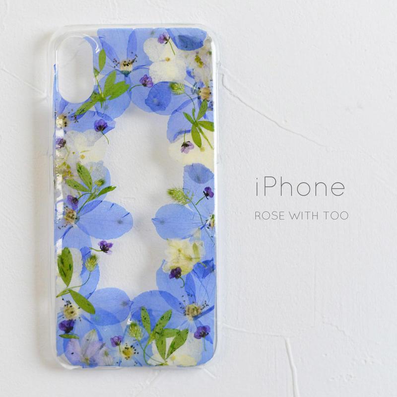 iPhone /   押し花スマホケース 2019043_2