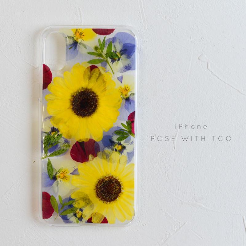 iPhone / 押し花ケース 20190529_4