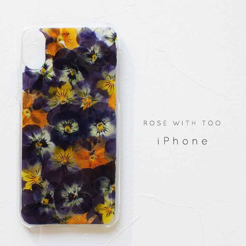 iPhone / 押し花ケース 190508_1