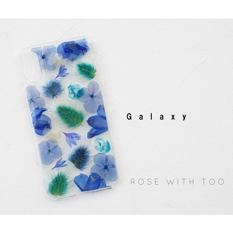 Galaxy / 押し花ケース20190710_6
