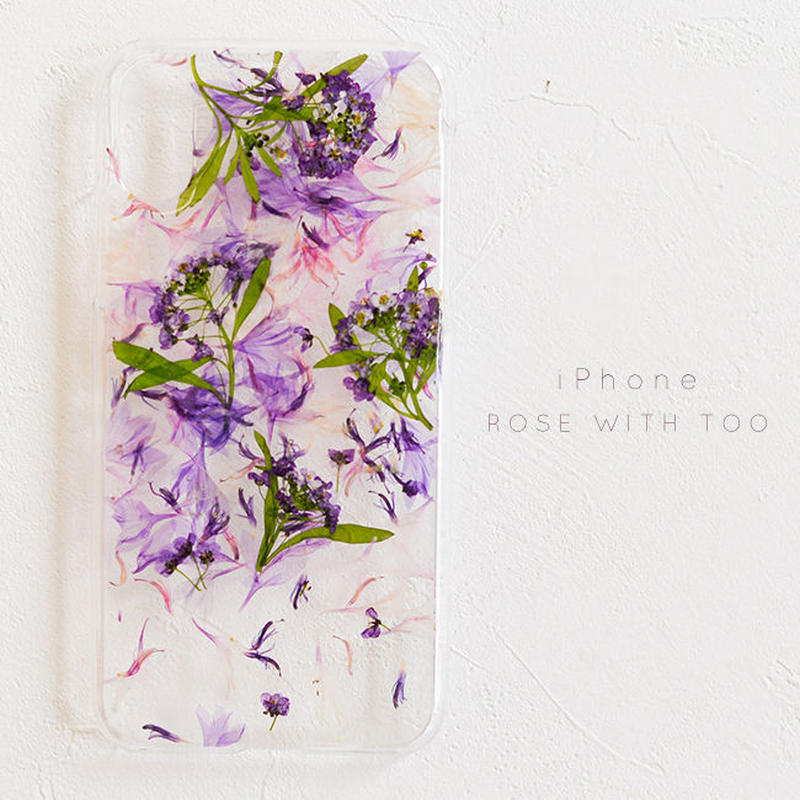 iPhone / 押し花ケース 190522_3