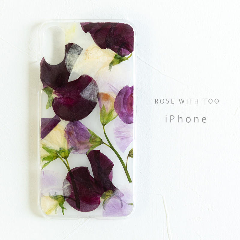 iPhone / 押し花ケース190220_1