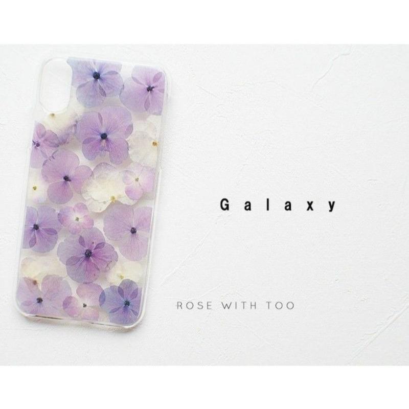 Galaxy / 押し花ケース20190703_4