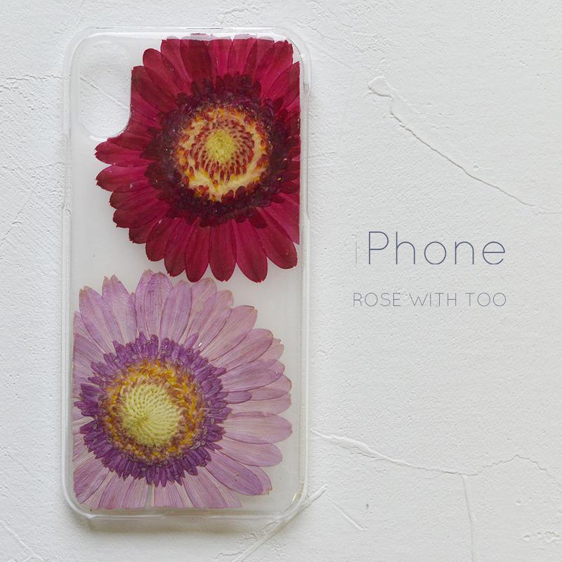 iPhone / 押し花ケース 190424_4