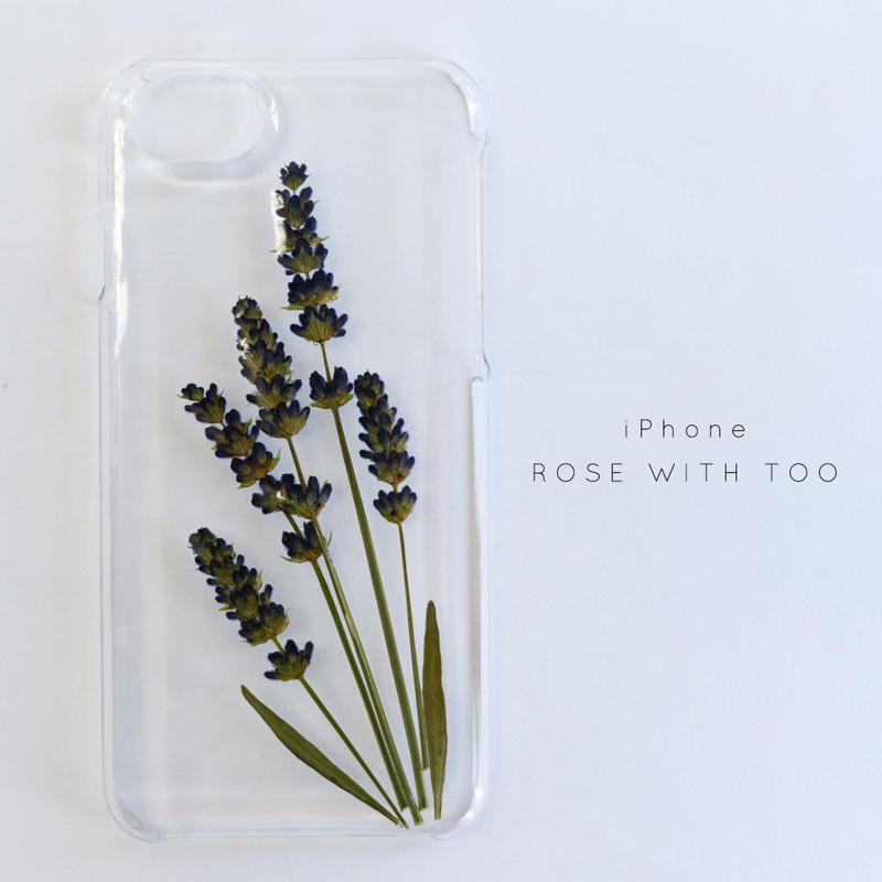 iPhone / 押し花ケース20190626_5