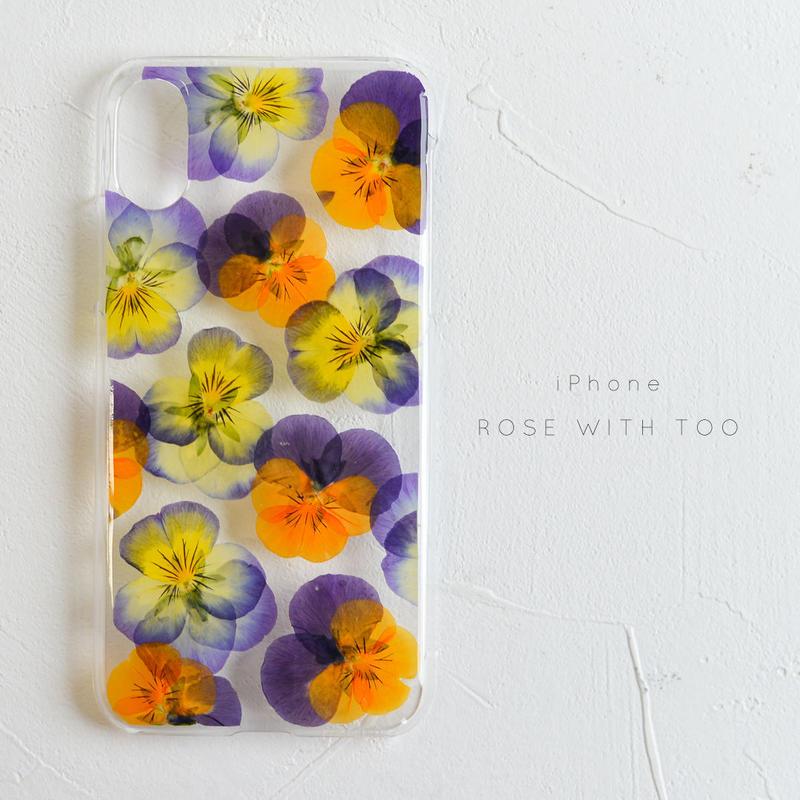 iPhone / 押し花ケース 20190529_2