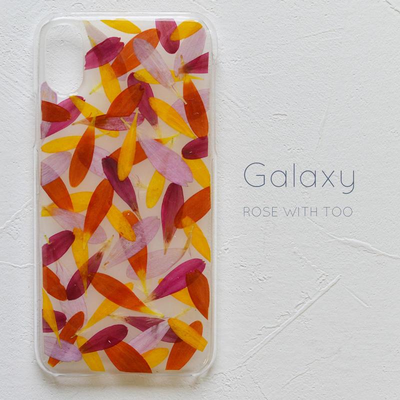 Galaxy / 押し花ケース 190424_1
