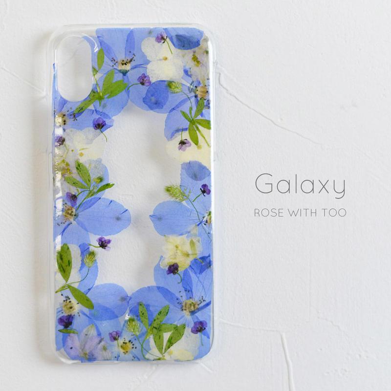 Galaxy /    押し花スマホケース 2019043_2