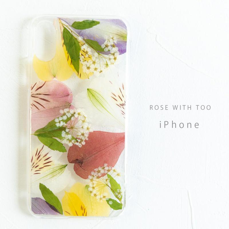 iPhone /押し花ケース190220_4