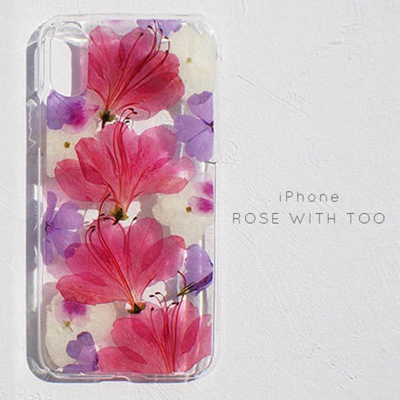 iPhone / 押し花ケース 190522_1