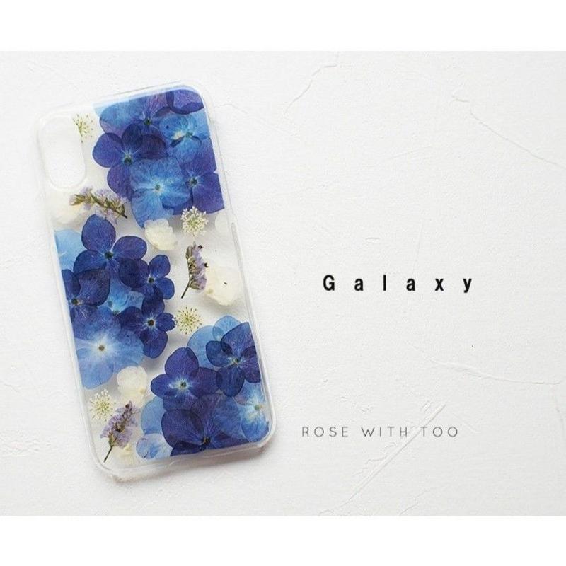 Galaxy / 押し花ケース20190703_6
