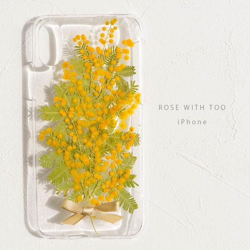 iPhone /  押し花ケース 190227_3