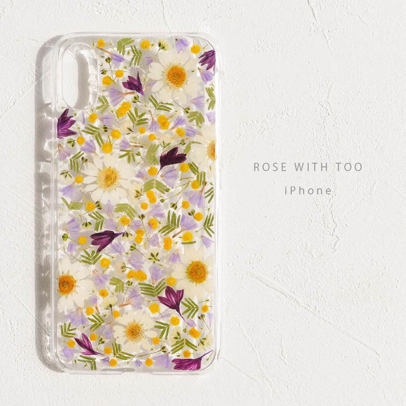 iPhone /  押し花ケース 190227_2